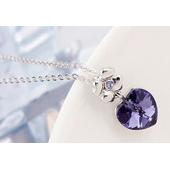 """Набор """"Цветочное сердце"""", фиолет2"""