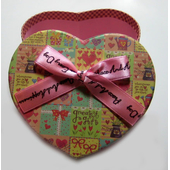 """Упаковка """"Сердце"""", разноцветный"""