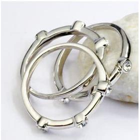 """Кольцо """"Серебрянные капли""""2"""