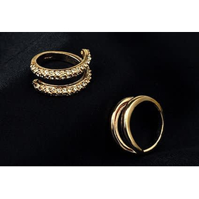 """Кольцо с цирконием """"Империя""""2"""