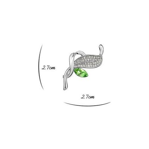 """Брошь """"Камея"""", зеленая3"""