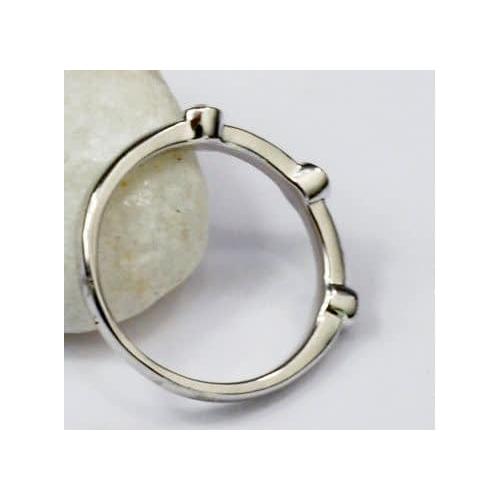 """Кольцо """"Серебрянные капли""""3"""