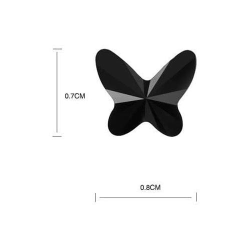 """Комплект """"Бабочки"""", черный2"""